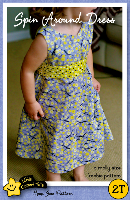 """It Spin Around?"" A Molly Size Freebie Dress Pattern."