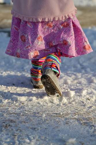 A Walk in the Park, a Snowy Park….